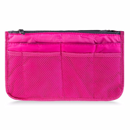 Agnes Brown Costume (Make up organizer bag Women Men Casual travel bag multi functional Cosmetic Bags storage bag in bag Makeup Handbag)
