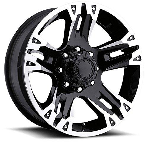 """Ultra Wheel 235B Maverick Matte Black Wheel (17x8""""/8x170m..."""