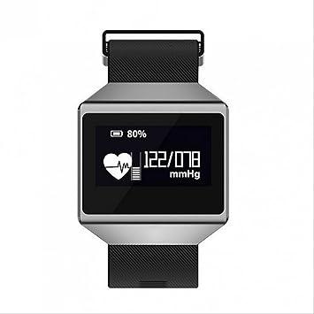 Smartwatch - Reloj de pulsera Bluetooth Sedentary Alerta Fitness Entrenamiento Podómetro Control de Calidad de Sueño Antisudor Smartwatch Calorías Grabación ...
