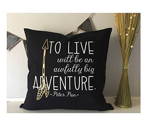 Arrow pillow cover , woodland nursery , Rustic boy bedroom, 16x16 in Kid Custom, boy bedding Bedroom , playroom decoration, Quote pillowcase, Christmas Gift for Children