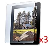 ipad 1 screen protector - eTECH Collection 3 Pack of Clear Screen Protector for Apple iPad 1st Generation -- Free Shipping From USA!!