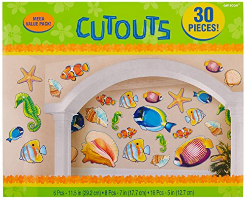 - Amscan Sea Life Party Cutout Kit