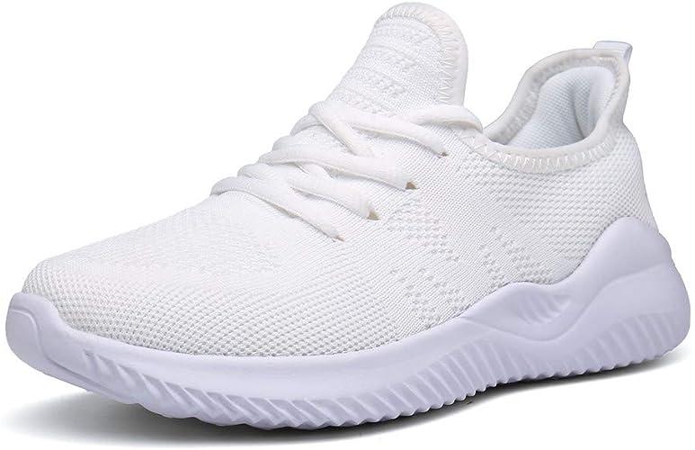 PAMRAY Baskets Basses Baskets Enfiler Homme Chaussure de Sport Course Running Fitness Tennis Slip on Leger Confortable Mode Sneakers