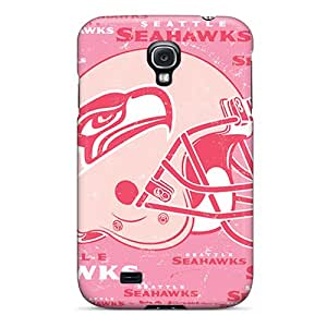 Great Hard Cell-phone Case For Samsung Galaxy S4 With Custom High-definition Seattle Seahawks Image MansourMurray