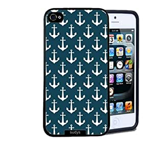 Iphone 5 5S Case Thinshell Case Protective Iphone 5 5S Case Shawnex Nautical Anchors Pattern