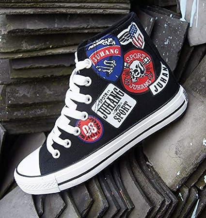 LOVDRAM Zapatos De Hombre Zapatos De Hombre Zapatos De Moda Zapatos Transpirables, Pintados A Mano