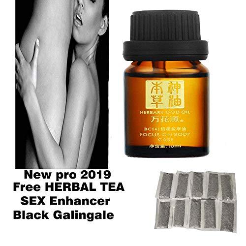 Free black galingale tea for men Herbary men oil 10 ml