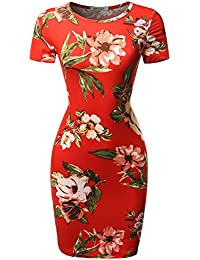 Women's Solid Or Floral Camouflage Print Sleeveless Mini...