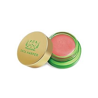 Tata Harper Volumizing Lip and Cheek Tint - Very Charming, Petal Pink Anti-aging Neuropeptide Cream Blush, 100% Natural, Made Fresh in Vermont, 4.5 g