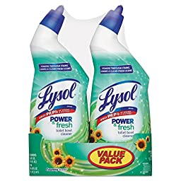 Toilet Bowl Cleaner, Country Scent, 24 Oz, Bottle, 6/carton