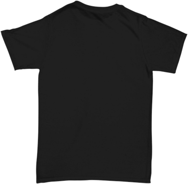 Vegan Mens Black T-Shirt