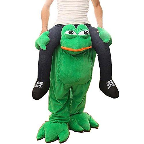 Party Unique Piggyback Ride On Riding Shoulder Adult Costume -