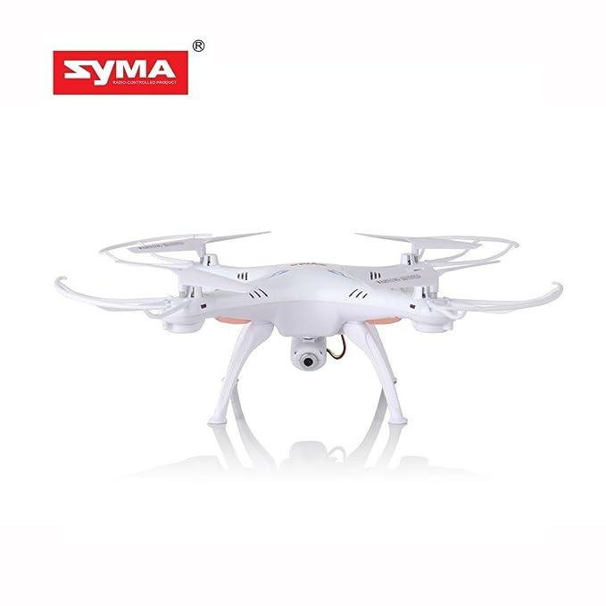 Syma X5SC amélioré Nouvelle Version Syma X5SC-1 Faucon Faux-bourdon HD 2,0 MP Caméra 4 Canaux 2.4 G Télécommande Quadriorotor 6 Axe 3D Rabat Volant UFO 360 Degrés éVersion Avec
