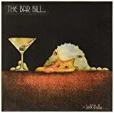 Paperproducts Design 20-Pack Bar Bill Paper Cocktail Napkins