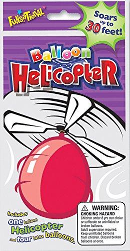 [해외]Funsational 풍선 헬리콥터 키트, 다양한 색상/Funsational Balloon Helicopter Kit, Assorted Colors