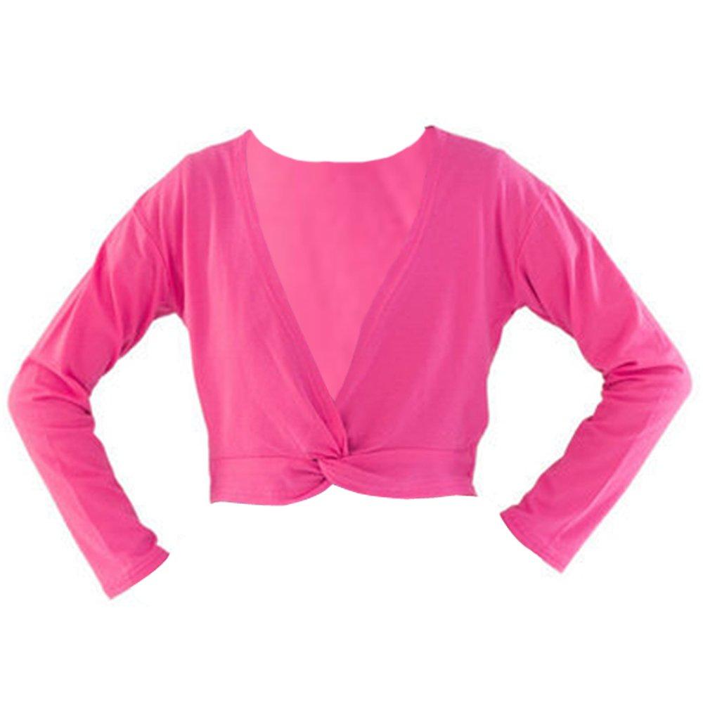 XFentech Spring Autumn Ballet Ballet Shoulder Pullover Jacket for Girls