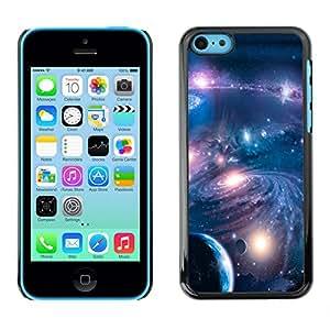 Partido De Los Cielos - Metal de aluminio y de plástico duro Caja del teléfono - Negro - iPhone 5C
