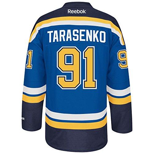 St. Louis Blues #91 Vladimir Tarasenko Reebok Blue Premier Jersey (XL)