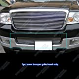 2005 ford f150 grille insert - APS F85351A Polished Aluminum Billet Grille Replacement for select Ford F-150 Models