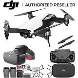 DJI Mavic Air Drone Quadcopter (Arctic White) + DJI Goggles FPV Headset (Racing Edition) VR FPV POV Experience Essential Bundle