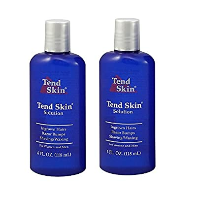 "Tend Skin Care Solution for Ingrown Hair & Razor Bumps, 4 oz, ""Pack of 2"""