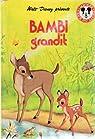 Bambi : Bambi grandit par Salten