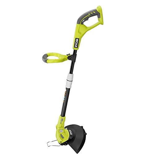Ryobi P2052 ONE 18-Volt Cordless String Trimmer Edger – Battery and Charger Not Included
