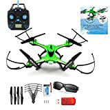 RC Quadcopter Drone, U.S Local Shipping CieKen JJRC H31 Waterproof Headless RC Quadcopter Drone 360°Rolling Action 3D CF One Key Return 2.4G 4CH 6Axis RC Quadcopter RTF with LED Light for Night Flight