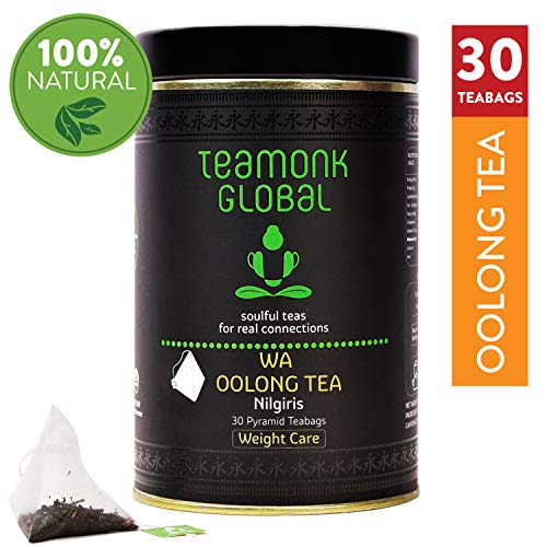 Vintage Oolong Tea - Nilgiri Oolong Tea, 30 Teabags | Supports Weight Care | 100% Natural Whole Leaf Oolong Tea | No additives