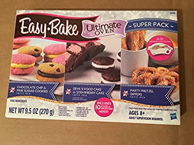 Hasbro Easy Bake Ultimate Oven Super 12 Pack Refill Mix