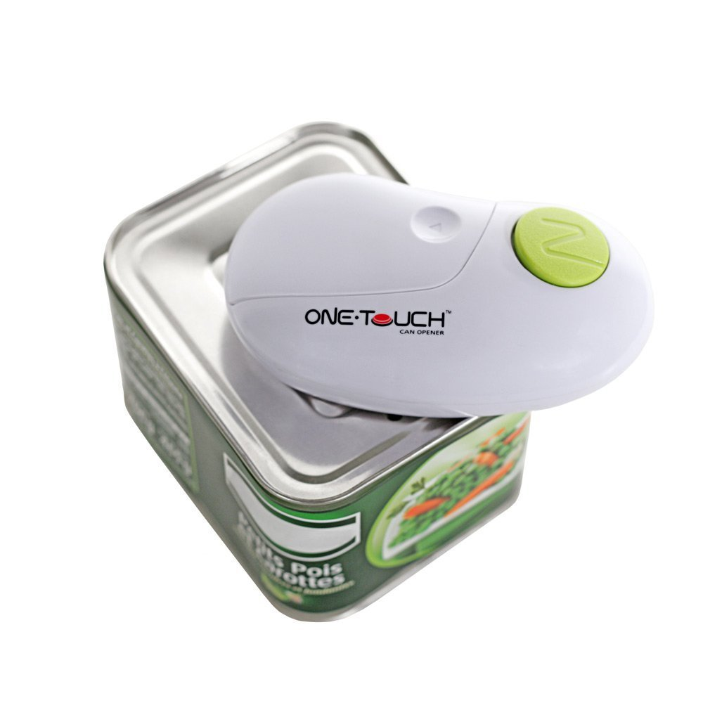 One Touch Hands Free Can Opener Opens all Types of Can ANKC86