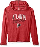 "NFL Girls 7-16 ""Glory Days"" Tri-Blend Pullover Hoodie-Crimson-L(14), Atlanta Falcons"