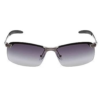 25c56160555e Fish Coolsir Polarized Lens Men UV400 Protection Square Shaped Sunglasses  Eyewear Alloy Frame Driving Eyeglasses  Amazon.co.uk  Sports   Outdoors