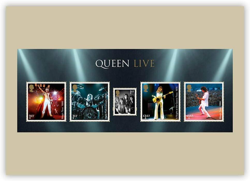 Cartes postales Queen