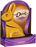 Dove Dark Chocolate Solid Easter Bunny, 4.5 Ounce