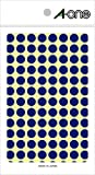 -One (A-one) color blue label Round 9mm 14 sheet (1,456 pieces) 07002 (japan import)