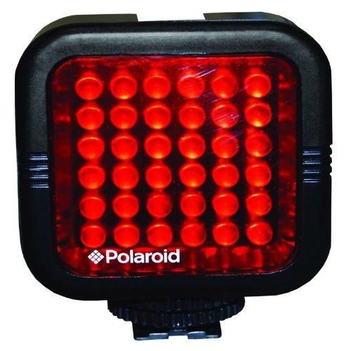 Polaroidスタジオシリーズ充電式赤外線ナイトライト36 LEDライトバーfor the Sony hdr-xr160、pj10、mc50u、cx700 V、cx560 V、cx160、xr100、pj580 V、pj30 V、td10、pj50 V、pj200、cx200、cx260 V、cx360 V Handycamビデオカメラ   B007NMXOPG