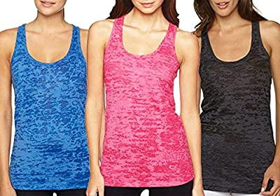 Fitness Tank Top , Workout Tanks , Burnout Racerback