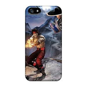 Anglams Snap On Hard Case Cover Mortal Kombat Shaolin Monks Protector For Iphone 5/5s