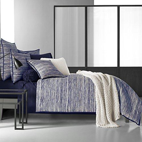 Five Queens Court Felix Indigo 100% Cotton Duvet Cover, Full, Blue