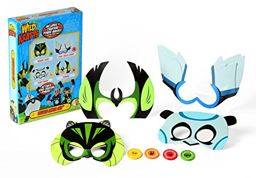 Kratts Wild Suit (Wild Kratts Toys Deluxe Set of 4 Creature Power Masks with Power)