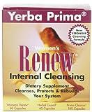 Cheap Yerba Prima Women's Renew Internal Cleansing, 60 capsules each of Renew, herbal Guard and 180 Capsules of Prima Cleanse