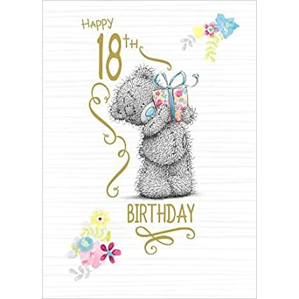 Amazon Me To You Happy 18th Birthday Card Bear Cards For 18
