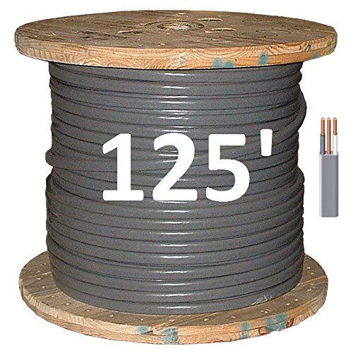 8/2 UF (Underground Feeder - Direct Earth Burial) Cable by Romex