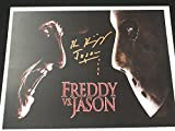 Ken Kirzinger signed 8x10 Photo Jason Voorhees vs Freddy Friday the 13th A
