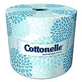 Cottonelle Bulk Toilet Paper (13135), Standard Toilet Paper Rolls, 2-PLY, White, 20 Rolls / Case, 451 Sheets / Roll