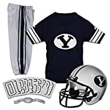 Franklin Sports NCAA BYU Cougars Kids College Football Uniform Set - Youth Uniform Set - Includes Jersey, Helmet, Pants - Youth Small