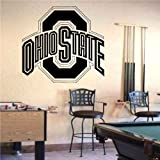 NCAA Ohio State Buckeyes Logo Wall art Sticker Decal (S687)
