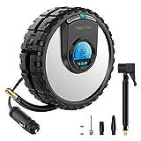Happy Road N1 Portable Air Compressor 12V Digital Pump Auto Shut Off...