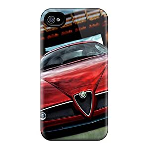 MMZ DIY PHONE CASEHot Tpye Alfa Remeo Speed Down The Road Case Cover For Iphone 4/4s